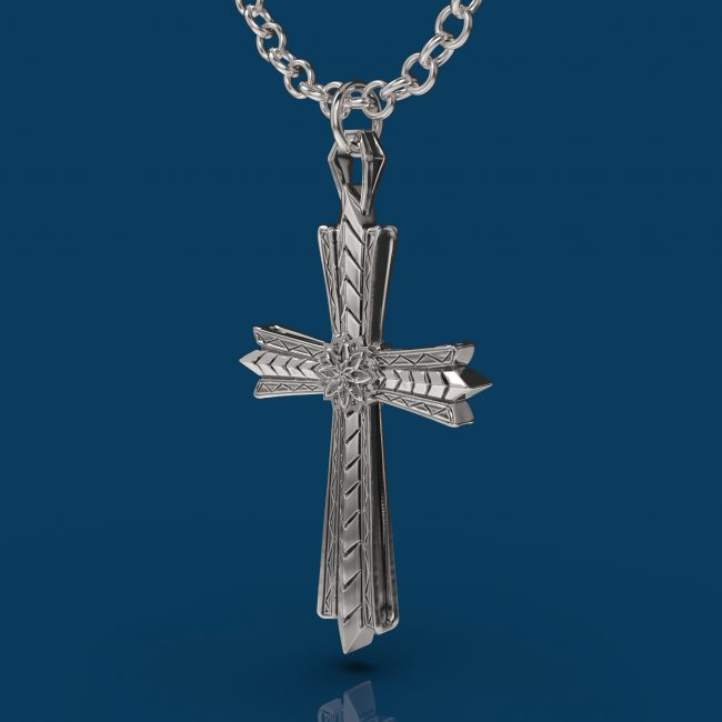 The Light Necklace - Angle
