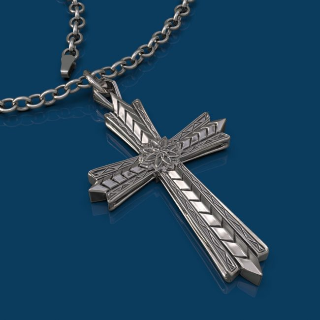 The Light Cross Necklace
