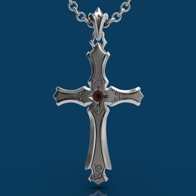 Presence Gothic Cross - Back