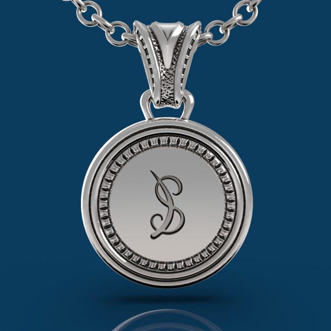 Byzantium Necklace - Back