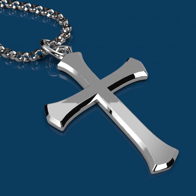 Solemn Cross Necklace