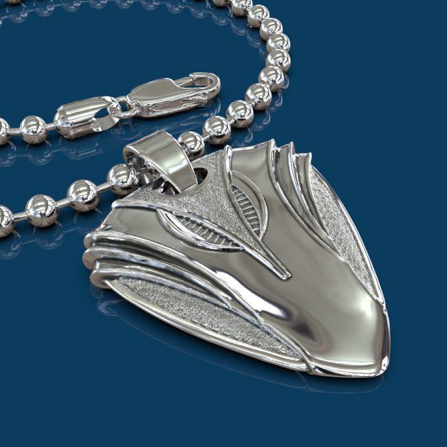 Stargazer Guitar Pick Necklace