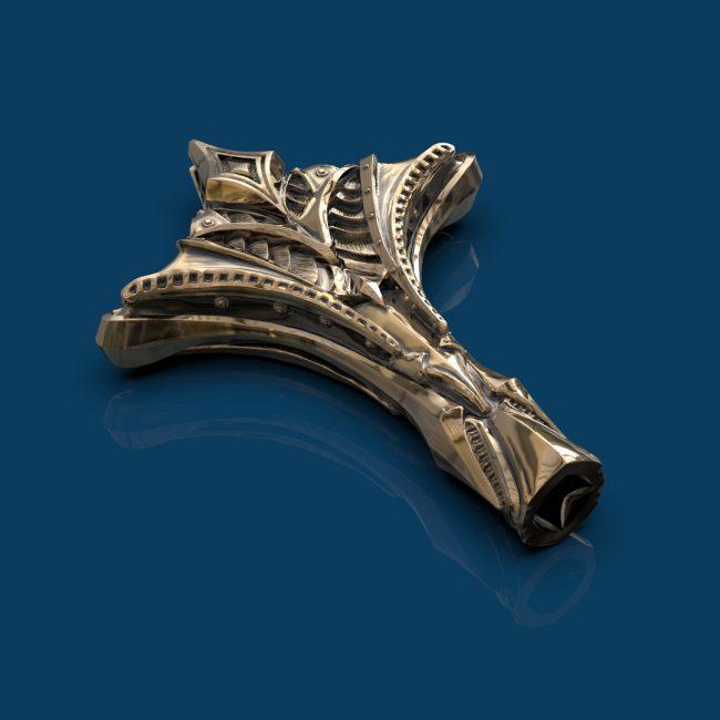 Falcon Bronze Drum Key