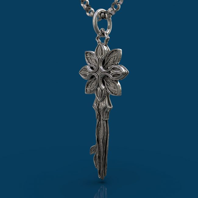 Starlight Pendant - Left Angle